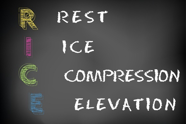 Rest, Ice, Compress and Elevate