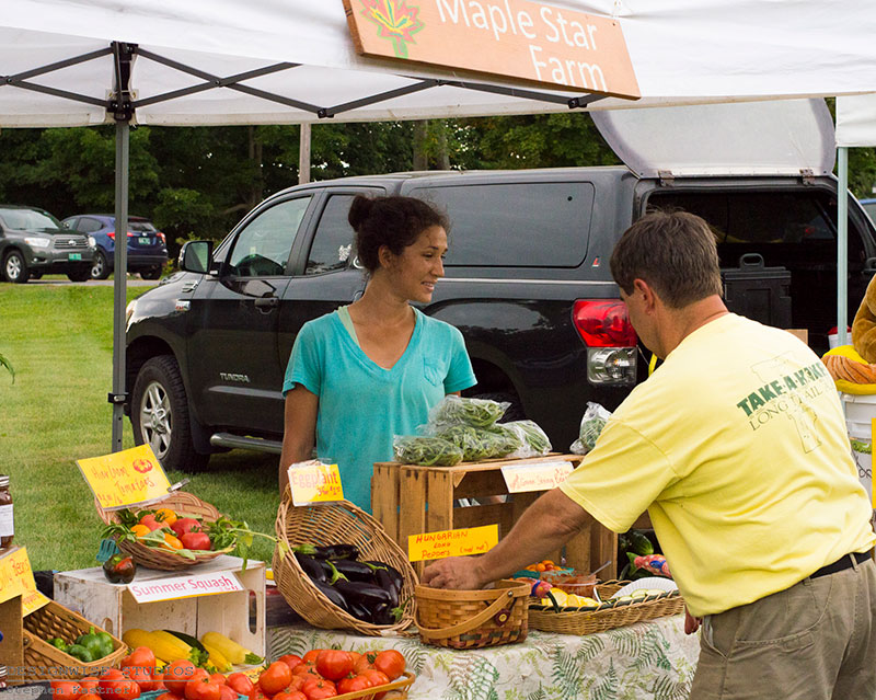 Jericho Farmers Market photo by Designwise Studios