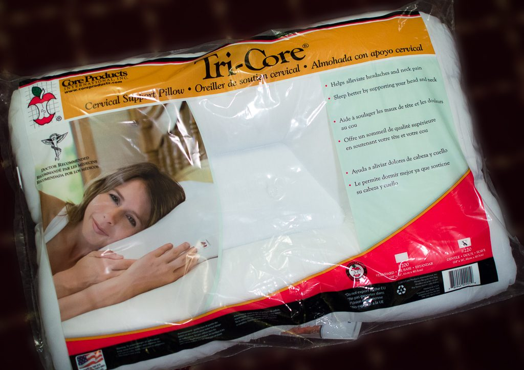 Tri-Core Cervical Support Pillow available at Kintner Chiropractic