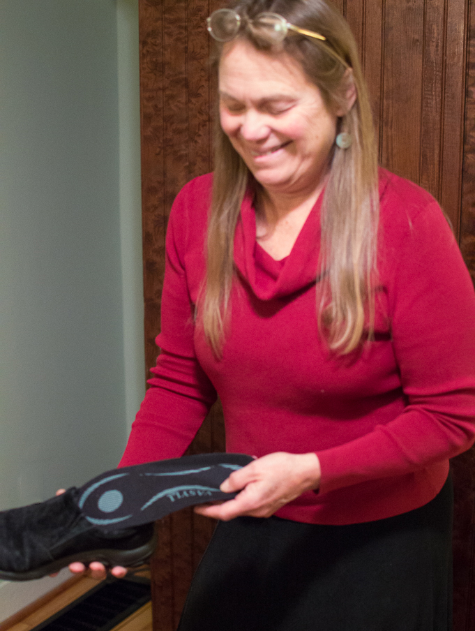 Orthotic inserts available at Kintner Chiropractic