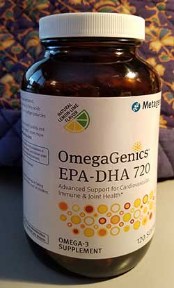 OmegaGenics Omega 3 Supplement available at Kintner Chiropractic